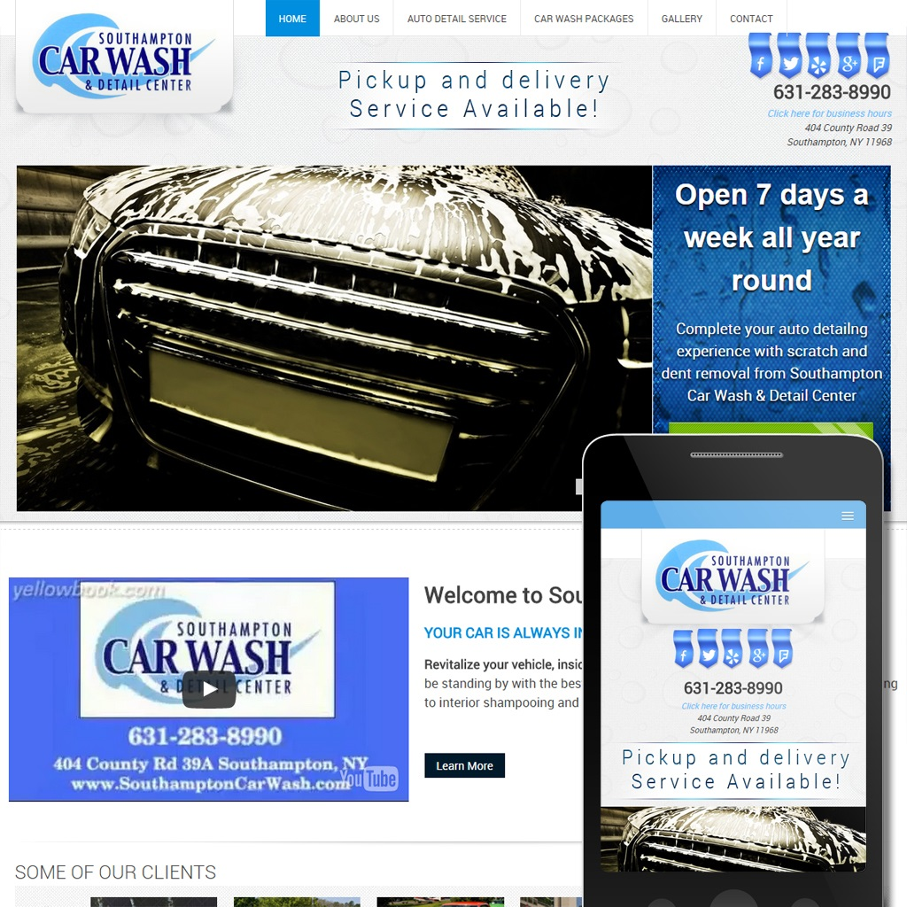 South Hampton Car Wash -