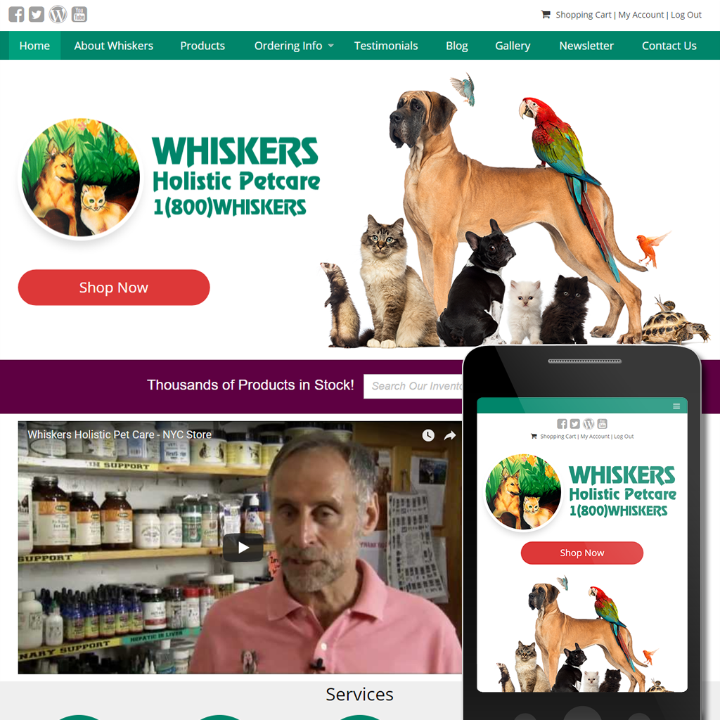 Whiskers Holistic Petcare -