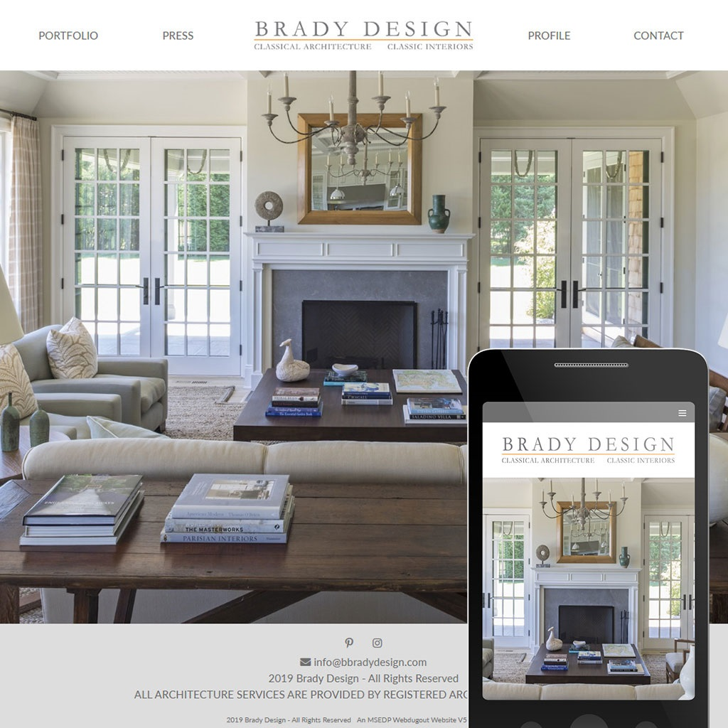 Brady Design | Classical Architecture -