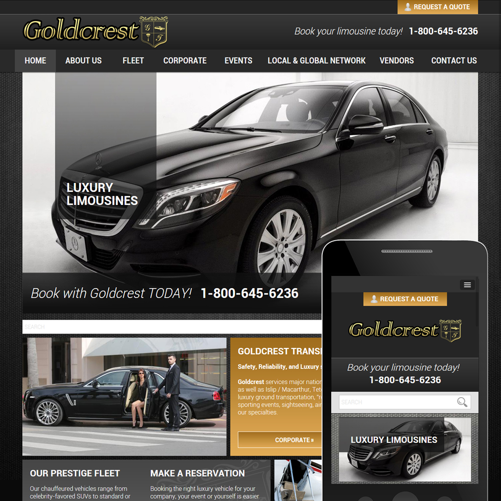 Gold Crest Limo -