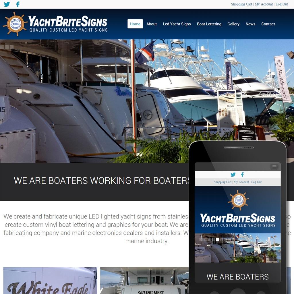 Yacht Brite Signs -