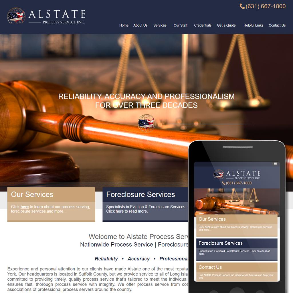 Alstate Process Service Inc -