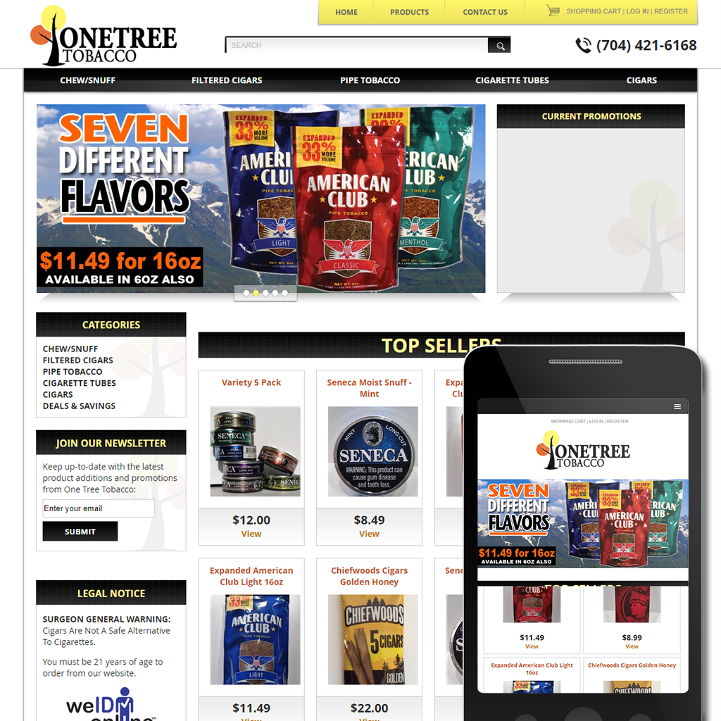 Onetree Tobacco -