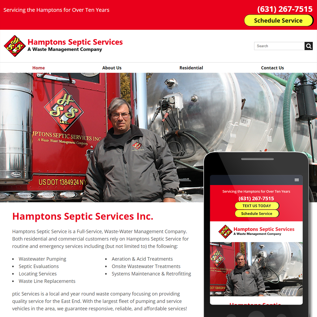 Hamptons Septic Services -