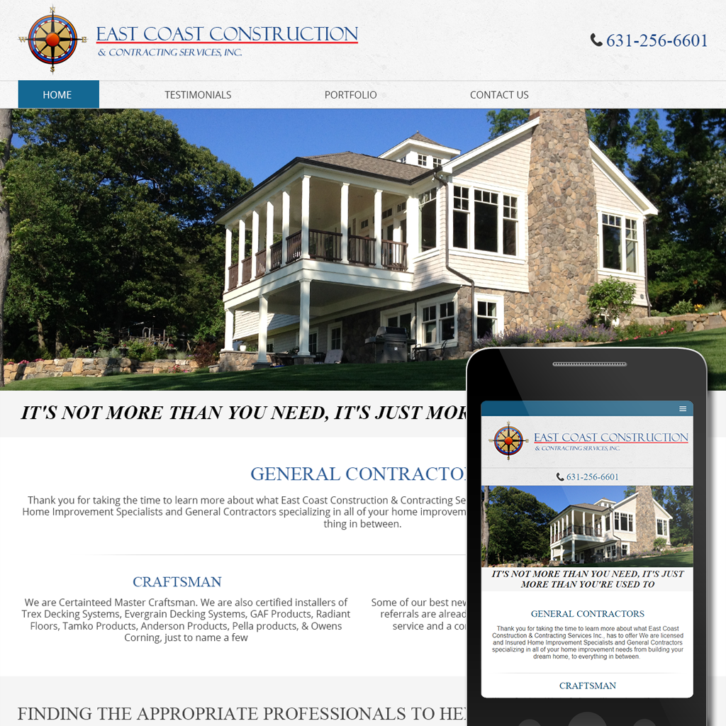East Coast Construction -