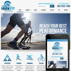 Business Website Sample - Health and Fitness